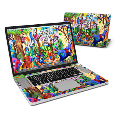 MacBook Pro 17in Skin - Happy Town Celebration