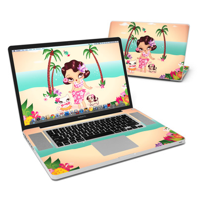 MacBook Pro 17in Skin - Hula Lulu