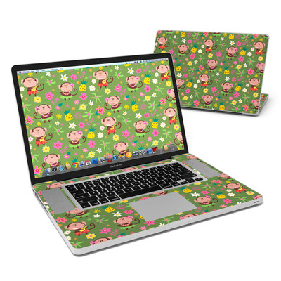 MacBook Pro 17in Skin - Hula Monkeys