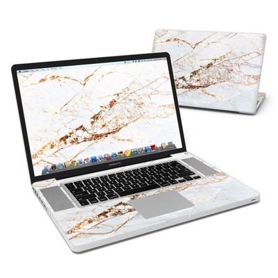MacBook Pro 17in Skin - Hazel Marble