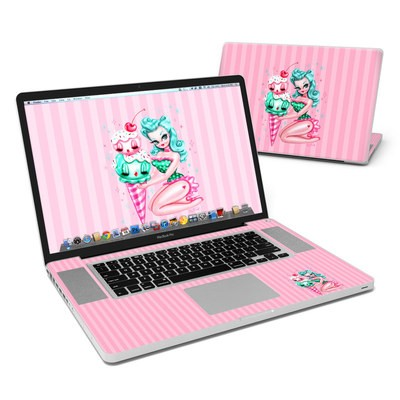 MacBook Pro 17in Skin - Ice Cream