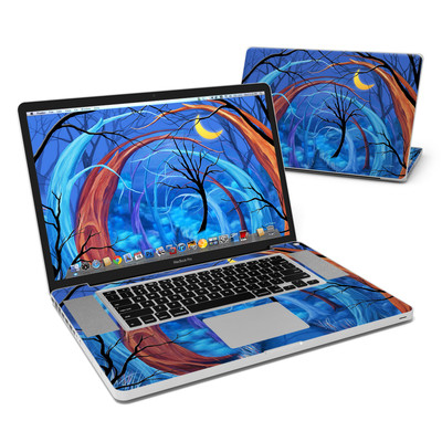 MacBook Pro 17in Skin - Ichabods Forest