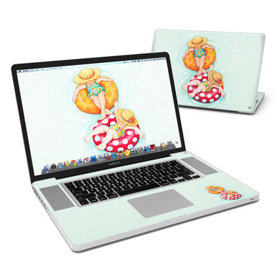 MacBook Pro 17in Skin - Inner Tube Girls