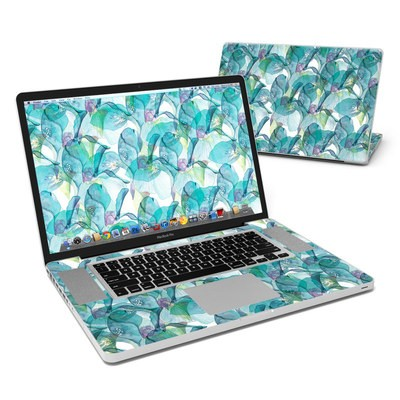 MacBook Pro 17in Skin - Iris Petals