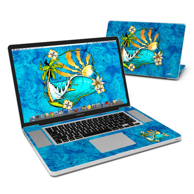 MacBook Pro 17in Skin - Island Playground