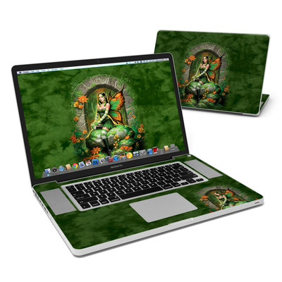 MacBook Pro 17in Skin - Jade Fairy