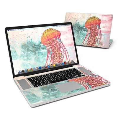 MacBook Pro 17in Skin - Jellyfish