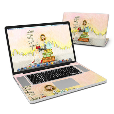 MacBook Pro 17in Skin - The Jet Setter