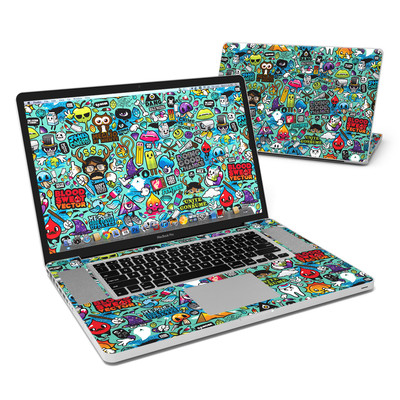 MacBook Pro 17in Skin - Jewel Thief