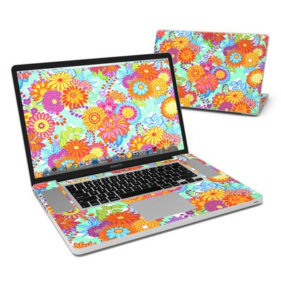 MacBook Pro 17in Skin - Jubilee Blooms