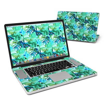 MacBook Pro 17in Skin - Jungle Palm