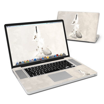 MacBook Pro 17in Skin - Katana Gold