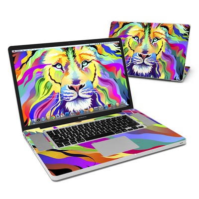 MacBook Pro 17in Skin - King of Technicolor
