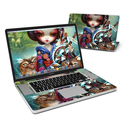 MacBook Pro 17in Skin - Kirin and Bakeneko