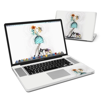 MacBook Pro 17in Skin - A Kiss for Dot