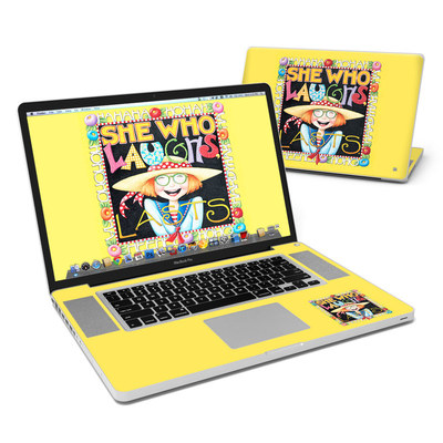 MacBook Pro 17in Skin - She Who Laughs