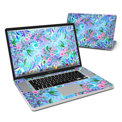 MacBook Pro 17in Skin - Lavender Flowers