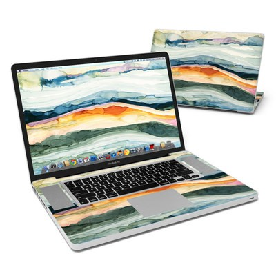 MacBook Pro 17in Skin - Layered Earth