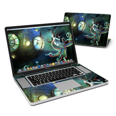 MacBook Pro 17in Skin - 20000 Leagues