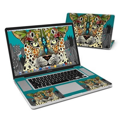 MacBook Pro 17in Skin - Leopard Queen