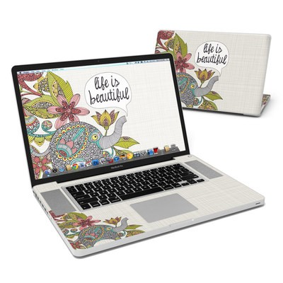 MacBook Pro 17in Skin - Life is Beautiful