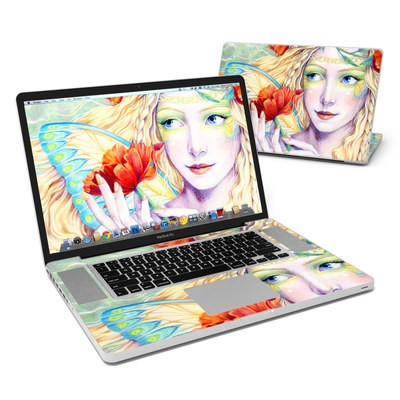 MacBook Pro 17in Skin - Light of the Poppy