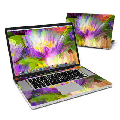MacBook Pro 17in Skin - Lily