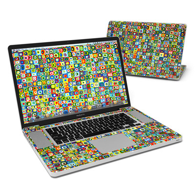 MacBook Pro 17in Skin - Line Dancing