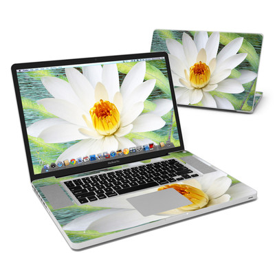 MacBook Pro 17in Skin - Liquid Bloom