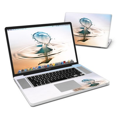 MacBook Pro 17in Skin - Liquid Daybreak