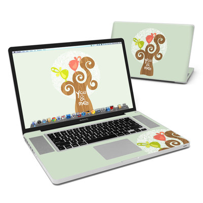 MacBook Pro 17in Skin - Two Little Birds