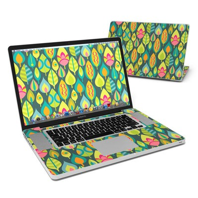 MacBook Pro 17in Skin - Little Leaves