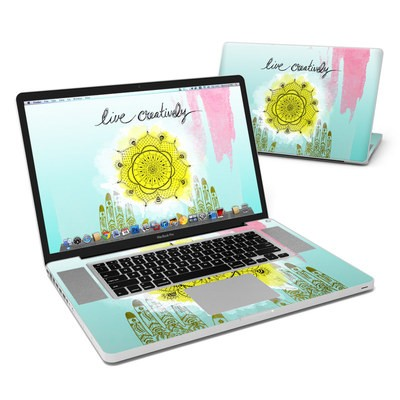 MacBook Pro 17in Skin - Live Creative