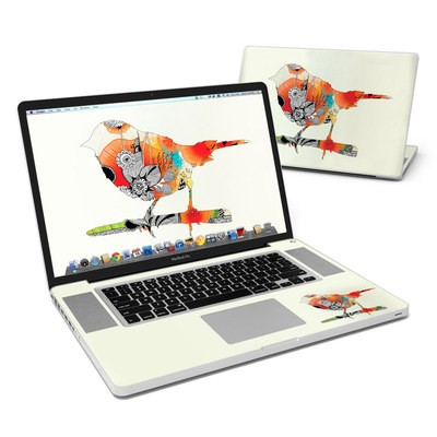 MacBook Pro 17in Skin - Little Bird
