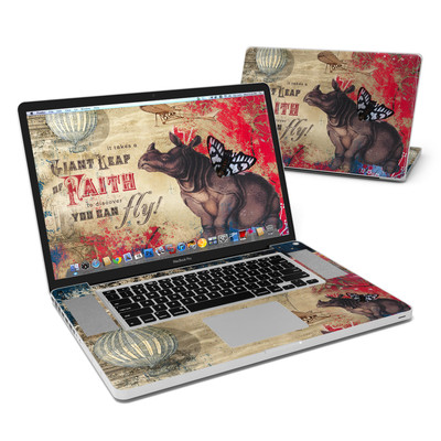 MacBook Pro 17in Skin - Leap Of Faith
