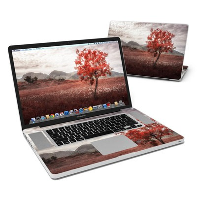 MacBook Pro 17in Skin - Lofoten Tree