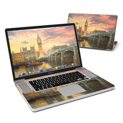 MacBook Pro 17in Skin - London - Thomas Kinkade