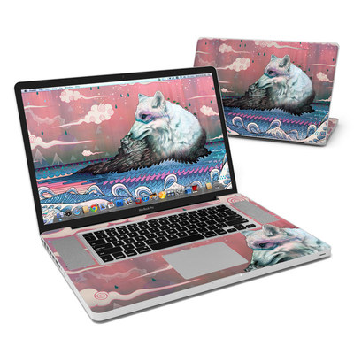 MacBook Pro 17in Skin - Lone Wolf