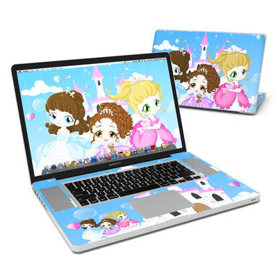 MacBook Pro 17in Skin - Little Princesses