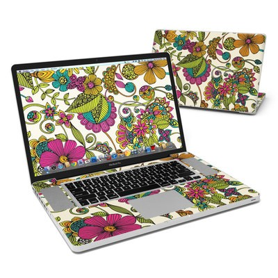 MacBook Pro 17in Skin - Maia Flowers