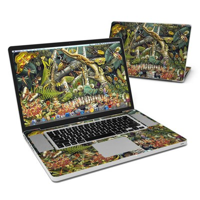 MacBook Pro 17in Skin - Mantis Mundi