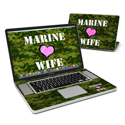 MacBook Pro 17in Skin - Marine Wife