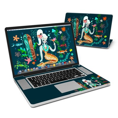 MacBook Pro 17in Skin - Martini Mermaid