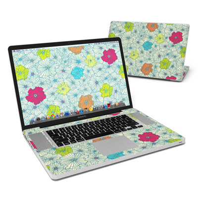 MacBook Pro 17in Skin - May Flowers