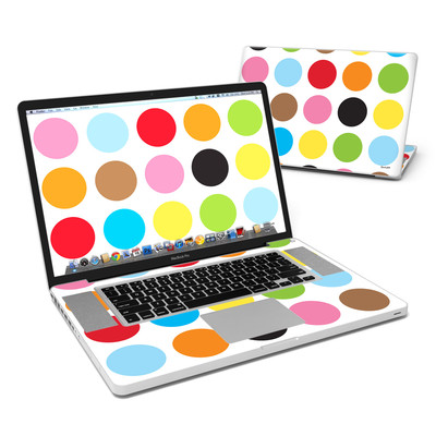 MacBook Pro 17in Skin - Multidot