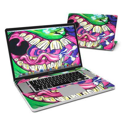MacBook Pro 17in Skin - Mean Green