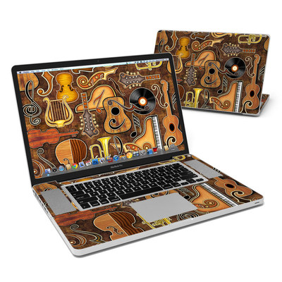 MacBook Pro 17in Skin - Music Elements