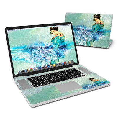 MacBook Pro 17in Skin - Magic Wave