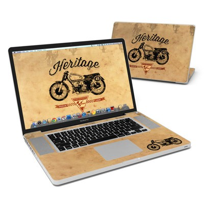 MacBook Pro 17in Skin - MotoGP Heritage