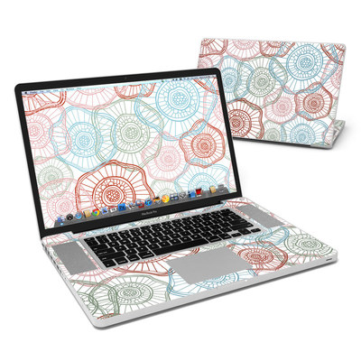 MacBook Pro 17in Skin - Micro Flowers